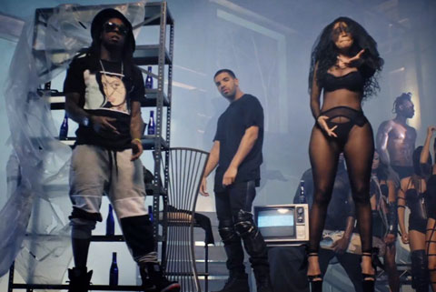 """Only"" Nicki Minaj feat. Drake, Lil Wayne, Chris Brown"
