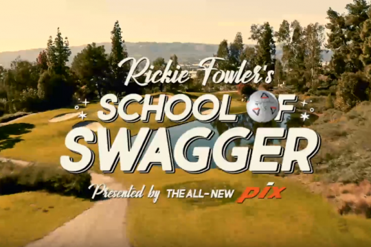 Rickie Fowler's School of Swagger Feat. the All-New TP5 & TP5x pix | TaylorMade Golf
