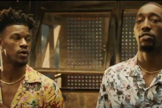 Jimmy Butler & Bam Adebayo's Jungle Cruise Commercial